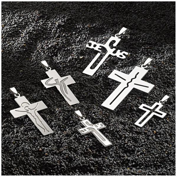 Topazio - Cross religious in siver - croci religiose in argento
